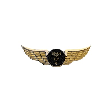 Foo Fighters Learn To Fly Wings Pin