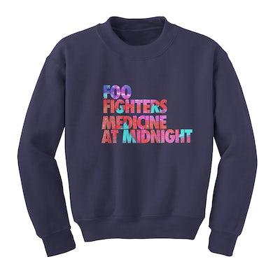 Foo Fighters Stacked Album Crewneck Sweatshirt