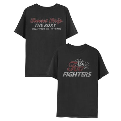 Foo Fighters The Roxy Live Stream Event Tee