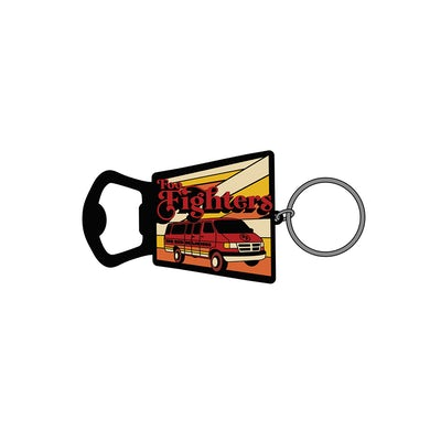 Foo Fighters Big Red Delicious Bottle Opener Keychain