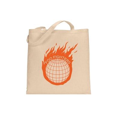 Foo Fighters Asteroid Tote Bag