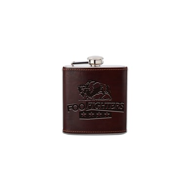 Foo Fighters In Your Honor Leather Flask
