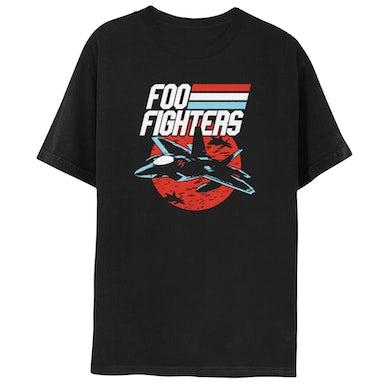 Foo Fighters Fighter Jet Tee