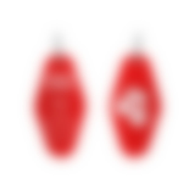 Jenny Lewis Hotel Keychain - Red