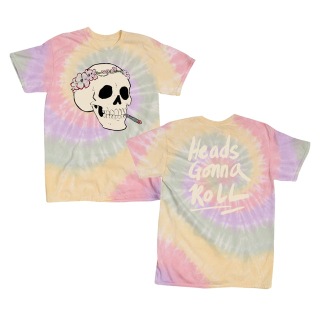 Jenny Lewis Heads Gonna Roll Tie Dye T-Shirt