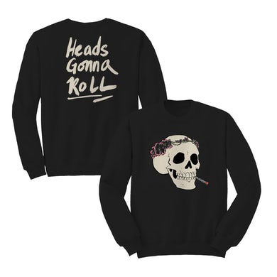 Jenny Lewis Heads Gonna Roll Crewneck - Black