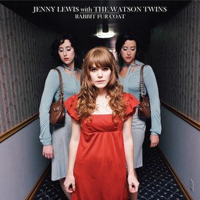 Jenny Lewis Rabbit Fur Coat 10 Year Anniversary Black Vinyl