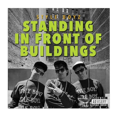 The Lonely Island Popstar Vinyl - Standing In Front Of Buildings