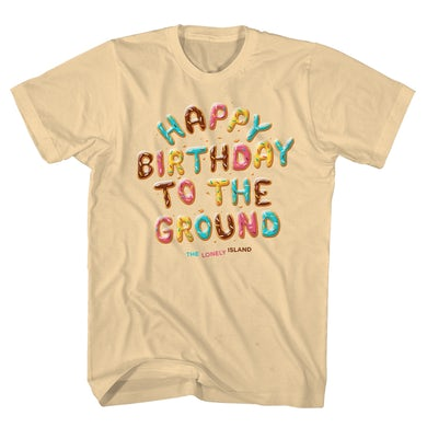 The Lonely Island Happy Birthday to the Ground Tee - Natural