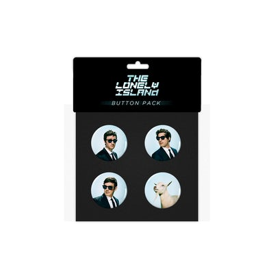 The Lonely Island Wack Button Pack