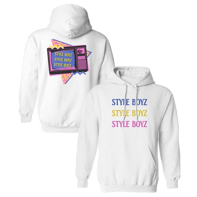The Lonely Island Style Boyz Hoodie - White