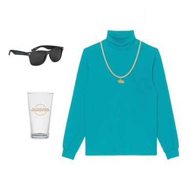 The Lonely Island Turtleneck & Chain Bundle