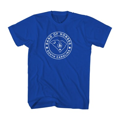 Band Of Horses South Carolina Tee (Royal Blue)