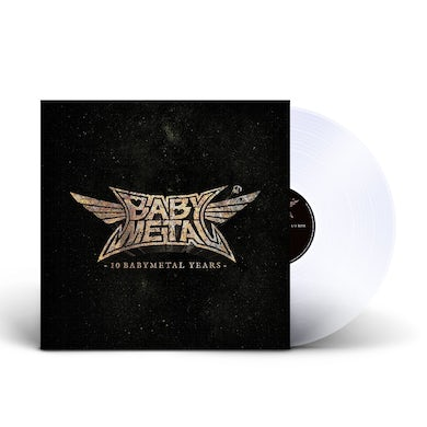 """""""10 BABYMETAL YEARS"""" LIMITED COLOURED LP (CRYSTAL CLEAR) (Vinyl)"""