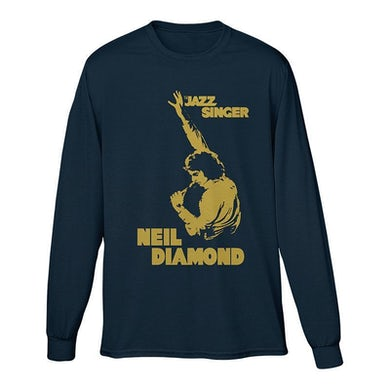 Neil Diamond Jazz Singer Long Sleeve