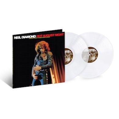 Neil Diamond Hot August Night 2LP CE CRYSTAL CLEAR VINYL