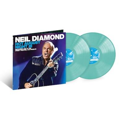 Neil Diamond Hot August Night III 2LP Seaglass Vinyl