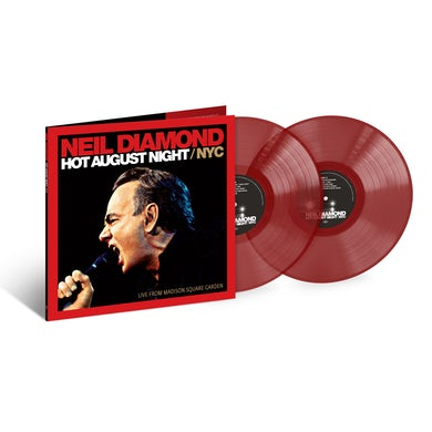 Neil Diamond Hot August Night/NYC Live From Madison Square Garden 2LP CE Translucent Ruby Red (Vinyl)