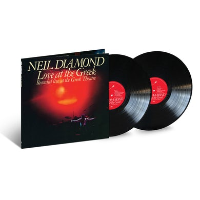 Neil Diamond Love At The Greek 2LP Black Vinyl