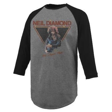 Neil Diamond Hot August Night Raglan