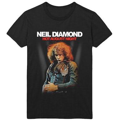 Neil Diamond Hot August Night Album Photo Tee
