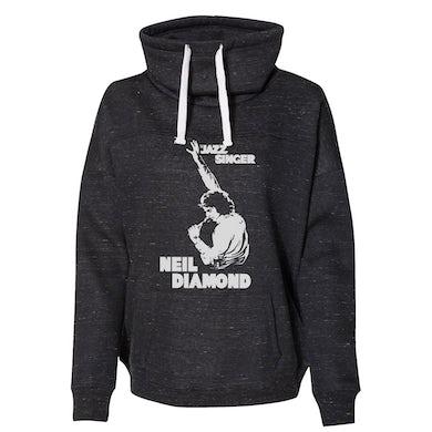 Neil Diamond Jazz Singer cowl-neck sweatshirt