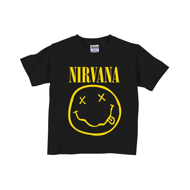 Nirvana Smiley Toddler Tee