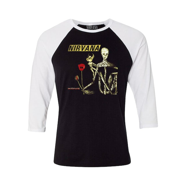 Nirvana Incesticide 3/4 Sleeve (Black/White)