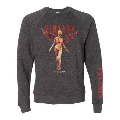 Nirvana In Utero Angel Crewneck