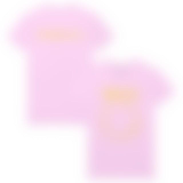 Nirvana Everyone Is Gay Smiley Tee - Pink