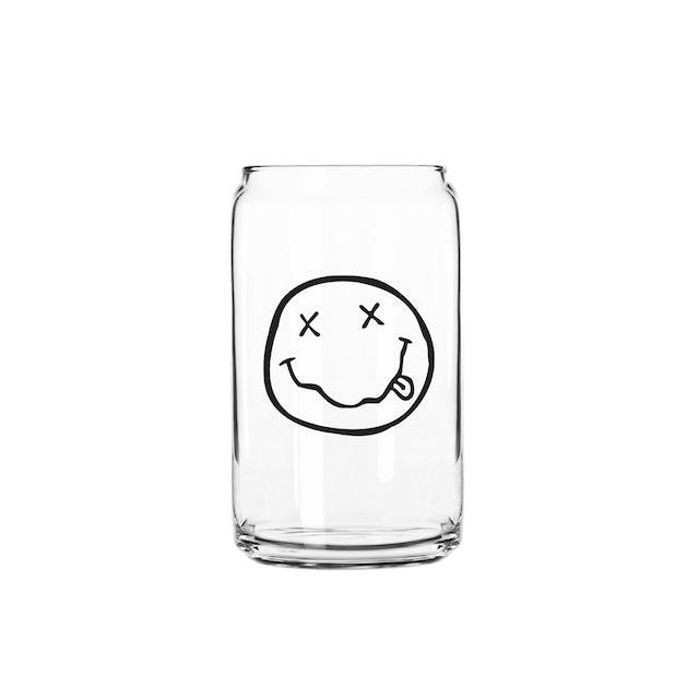 Nirvana Smiley Beer Glass