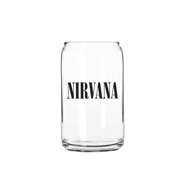 Nirvana Logo Beer Glass