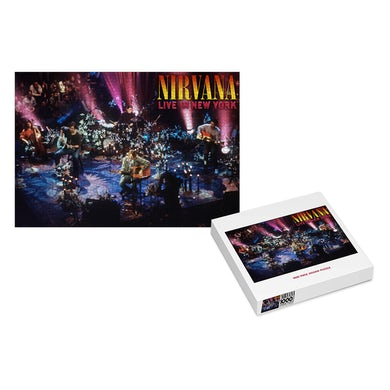 Nirvana Live In New York Puzzle