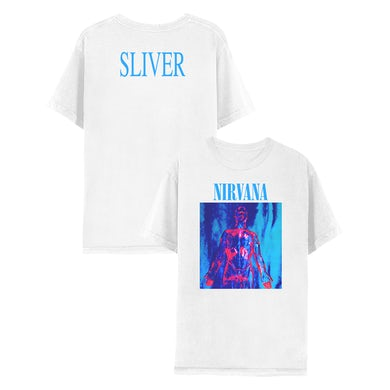 Nirvana Sliver Tee - White