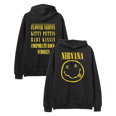 Nirvana Smiley Hoodie