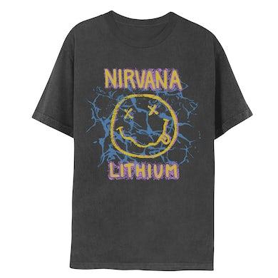 Nirvana Lithium Smiley Tee