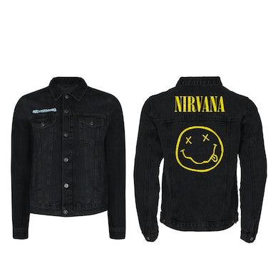 Nirvana Nevermind Black Denim Jacket
