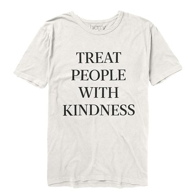 Harry Styles Treat People with Kindness T-Shirt – White