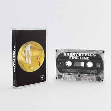 Harry Styles LIMITED EDITION Clear Fine Line Cassette + Digital Download