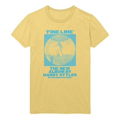 Harry Styles Yellow Vintage Fine Line Tee