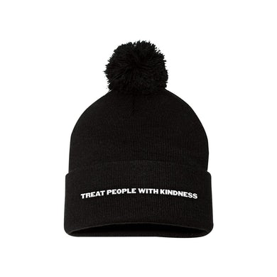 Harry Styles Treat People With Kindness Pom Beanie