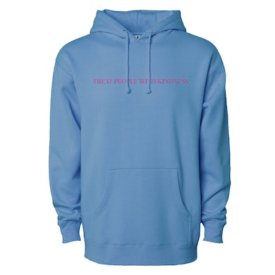 Harry Styles Treat People With Kindness Hoodie (Blue) + Digital Download