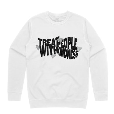 Harry Styles Treat People With Kindness Glitter Crewneck Sweatshirt