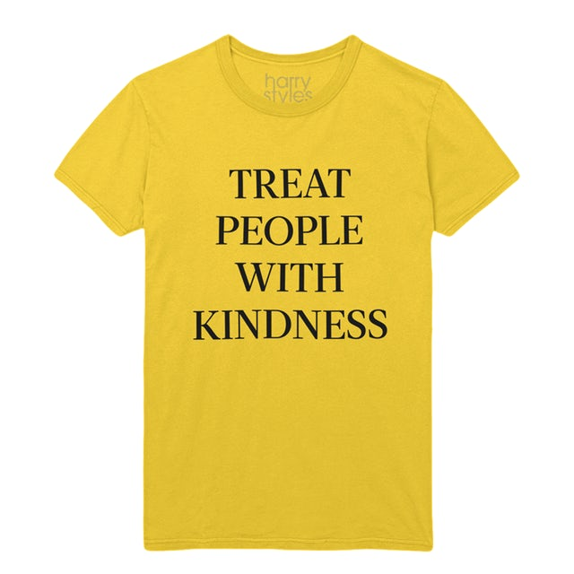 Harry Styles Treat People With Kindness Tee (Yellow)