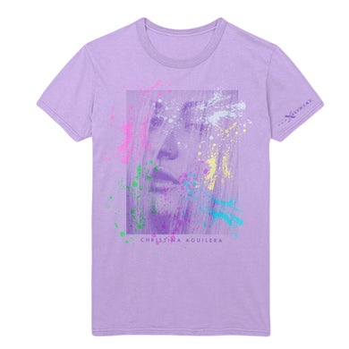 Christina Aguilera Xperience Purple Tee