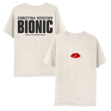 Christina Aguilera BIONIC ANNIVERSARY TEE