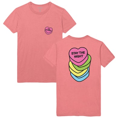 The Internet STAY THE NIGHT TEE - GUAVA