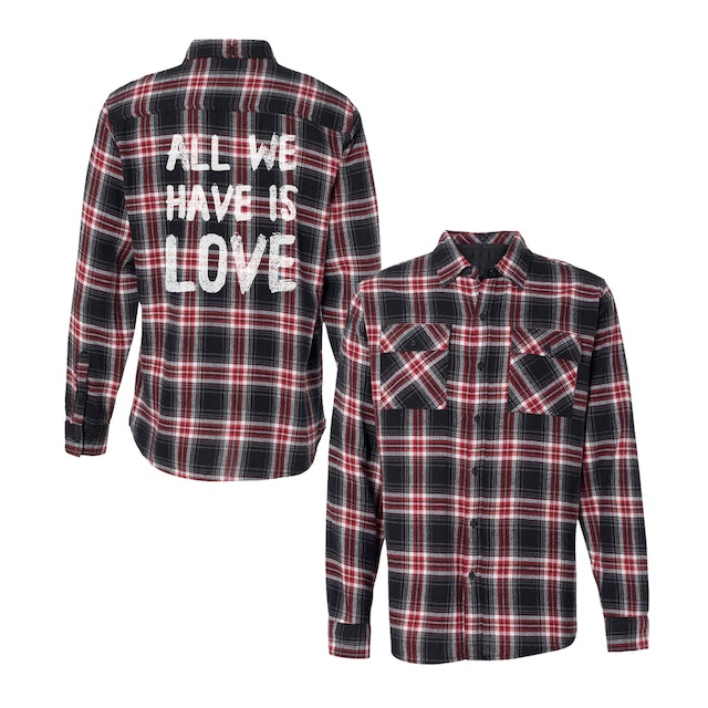 Sabrina Carpenter ALL WE HAVE IS LOVE FLANNEL