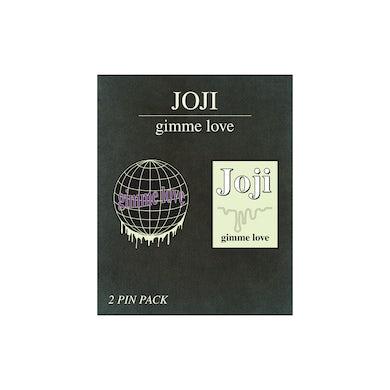"Joji ""GIMME LOVE"" PIN 3-PACK"