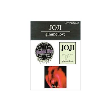 "Joji ""GIMME LOVE"" STICKER 3-PACK"